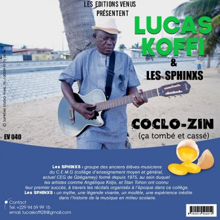 Lucas Koffi et Les Sphinxs dévoilent leur chanson Coclo-zin. De la pure salsa béninoise.